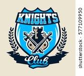 colorful logo  emblem of an... | Shutterstock .eps vector #577109950