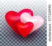 vector valentines day different ... | Shutterstock .eps vector #577120990