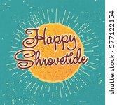happy shrovetide maslenitsa...   Shutterstock .eps vector #577122154