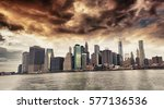 Panoramic View Lower Manhattan Skyline - Fine Art prints