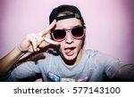 Teen selfie boy