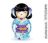 Kokesh Japanese National Doll...