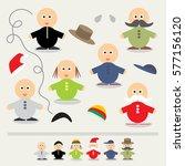 educational game for children... | Shutterstock .eps vector #577156120