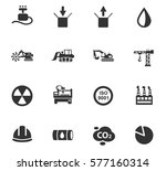 industry vector icons for user... | Shutterstock .eps vector #577160314
