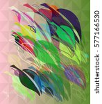 leaves vector idea | Shutterstock .eps vector #577166530