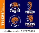 tigers   logo  icon ... | Shutterstock .eps vector #577171489