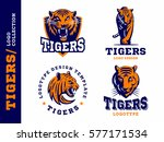 tigers   logo  icon ... | Shutterstock .eps vector #577171534