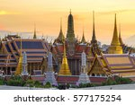 grand palace and wat phra keaw... | Shutterstock . vector #577175254