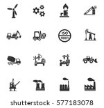 industry vector icons for user... | Shutterstock .eps vector #577183078