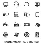gadget vector icons for user