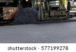 industrial pavement truck...   Shutterstock . vector #577199278