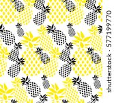 vector seamless pattern with... | Shutterstock .eps vector #577199770