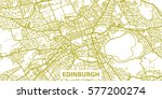 detailed vector map of... | Shutterstock .eps vector #577200274
