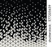 abstracet geometric halftone... | Shutterstock .eps vector #577205659