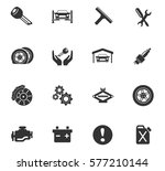 car service vector icons for... | Shutterstock .eps vector #577210144