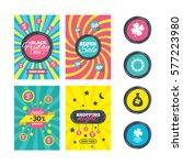 sale website banner templates.... | Shutterstock . vector #577223980