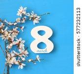 international women day concept.... | Shutterstock . vector #577232113