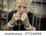 rebellious teenager taken... | Shutterstock . vector #577236094