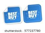 best buy stickers | Shutterstock .eps vector #577237780