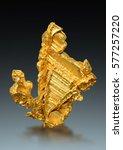 gold specimen from serra de... | Shutterstock . vector #577257220