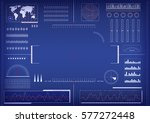 abstract technology background | Shutterstock .eps vector #577272448