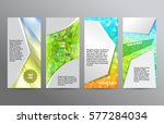 design elements presentation... | Shutterstock .eps vector #577284034