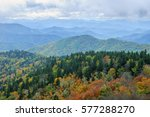 blue ridge mountains  north... | Shutterstock . vector #577288270