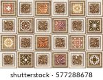 the tiles are the good texture... | Shutterstock . vector #577288678