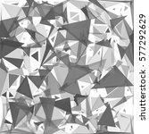 black break mosaic background ... | Shutterstock .eps vector #577292629