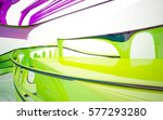 abstract architectural interior ... | Shutterstock . vector #577293280