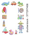 toys | Shutterstock .eps vector #577297408