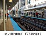 chicago  il   circa march  2016 ... | Shutterstock . vector #577304869