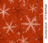 seamless christmas pattern from ... | Shutterstock . vector #577304968