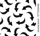 seamless vector hand drawn... | Shutterstock .eps vector #577320448