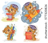 funny illustrations for... | Shutterstock .eps vector #577320826