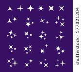 sparkles line icons. black...   Shutterstock .eps vector #577321204