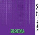 binary code black and white...   Shutterstock .eps vector #577325458
