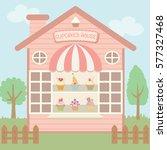 illustration vector of cute...   Shutterstock .eps vector #577327468