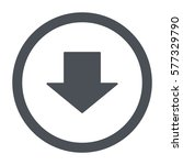 arrow icon  flat design style   Shutterstock .eps vector #577329790