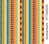 seamless vector tribal texture. ... | Shutterstock .eps vector #577333294