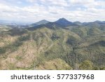green mountain landscape in... | Shutterstock . vector #577337968