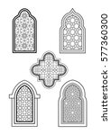 arabic or islamic traditional... | Shutterstock .eps vector #577360300