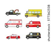 emergency rescue and special... | Shutterstock .eps vector #577362538
