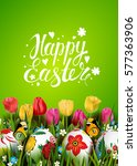 template vector card with... | Shutterstock .eps vector #577363906