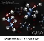 scientific background with... | Shutterstock .eps vector #577365424