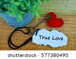 Key And Heart As Symbol Of Lov...