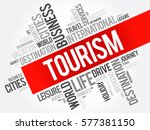 tourism word cloud collage ...
