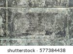 old cement block wall background | Shutterstock . vector #577384438