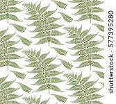 a vector illustration of fern... | Shutterstock .eps vector #577395280