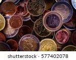 euro coins euro money cash poor | Shutterstock . vector #577402078